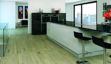 Linear Grey Gloss Woodgrain & Gloss Dark Grey Woodgrain